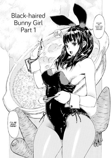 Black-Haired Bunny Girl Part 1 Thumbnail 2
